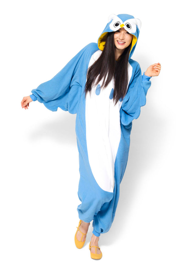 Owl Animal Kigurumi Adult Onesie Costume Pajamas Main