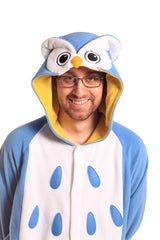 Owl X-Tall Animal Kigurumi Adult Onesie Costume Pajamas Hood