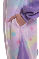 Pastel Dream Panda Animal Kigurumi Adult Onesie Costume Pajamas Pocket