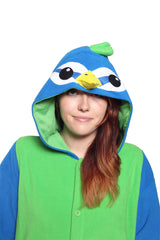 Peacock Animal Kigurumi Adult Onesie Costume Pajamas Hood