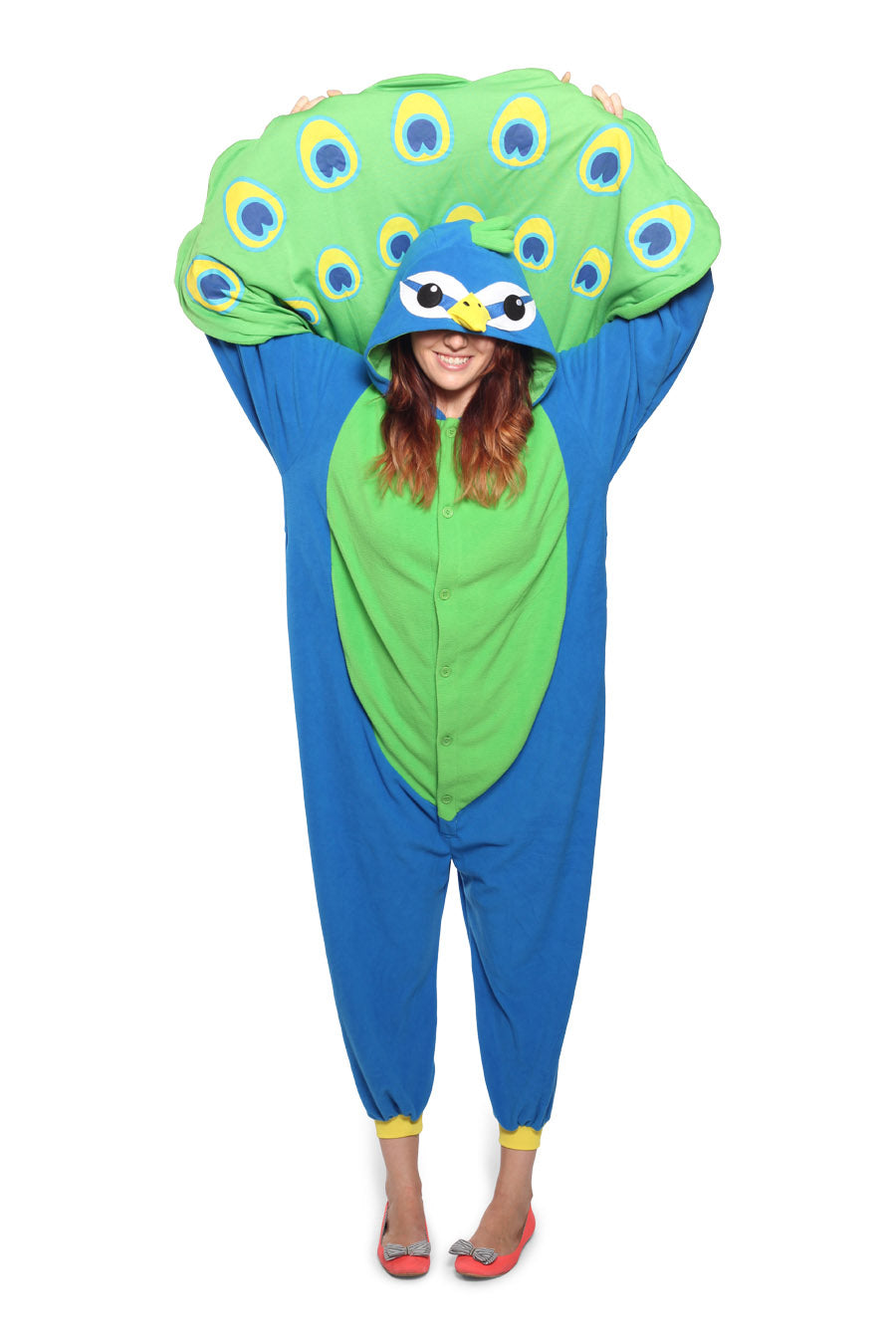 Peacock Animal Kigurumi Adult Onesie Costume Pajamas Main