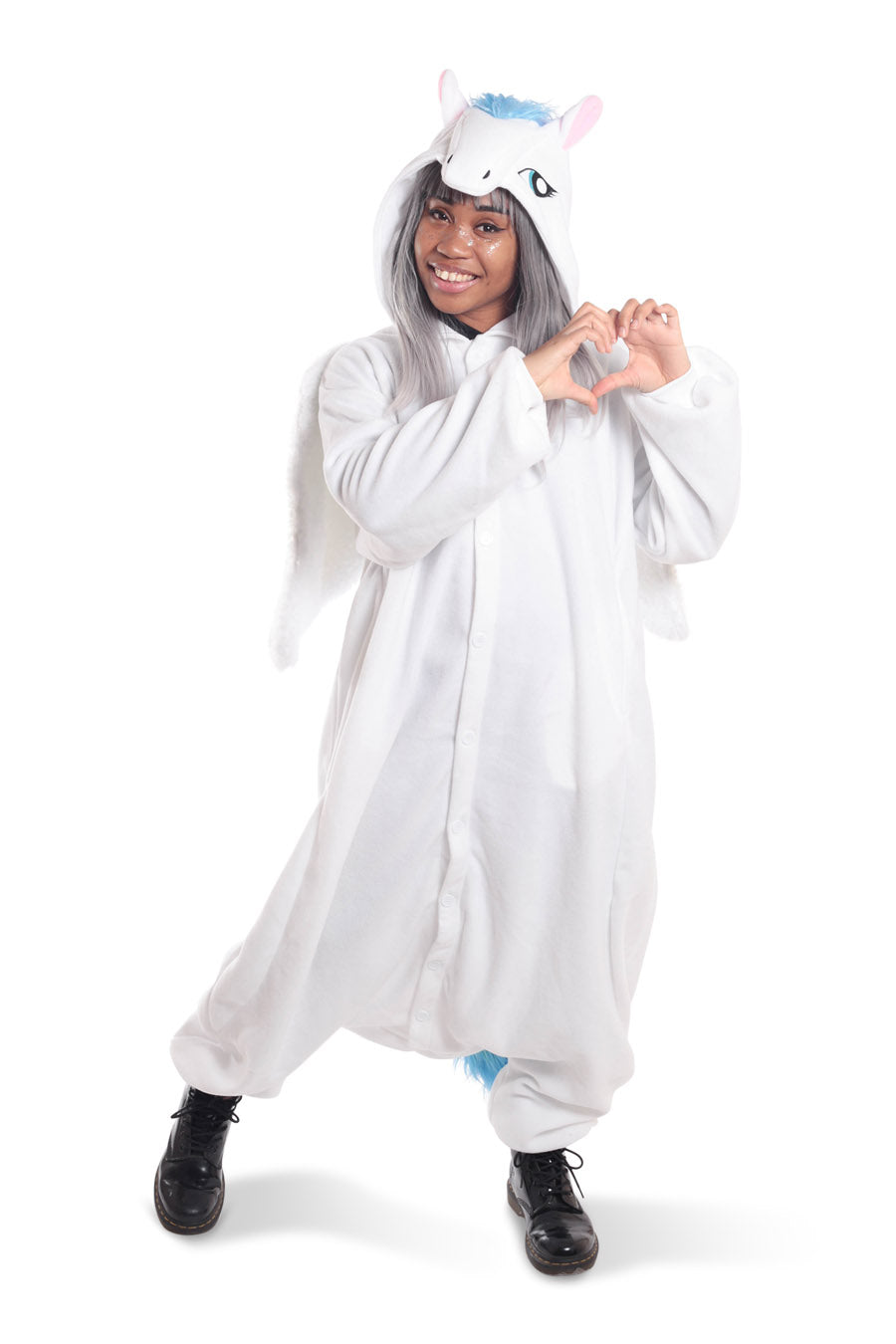 Pegasus Animal Kigurumi Adult Onesie Costume Pajamas Main