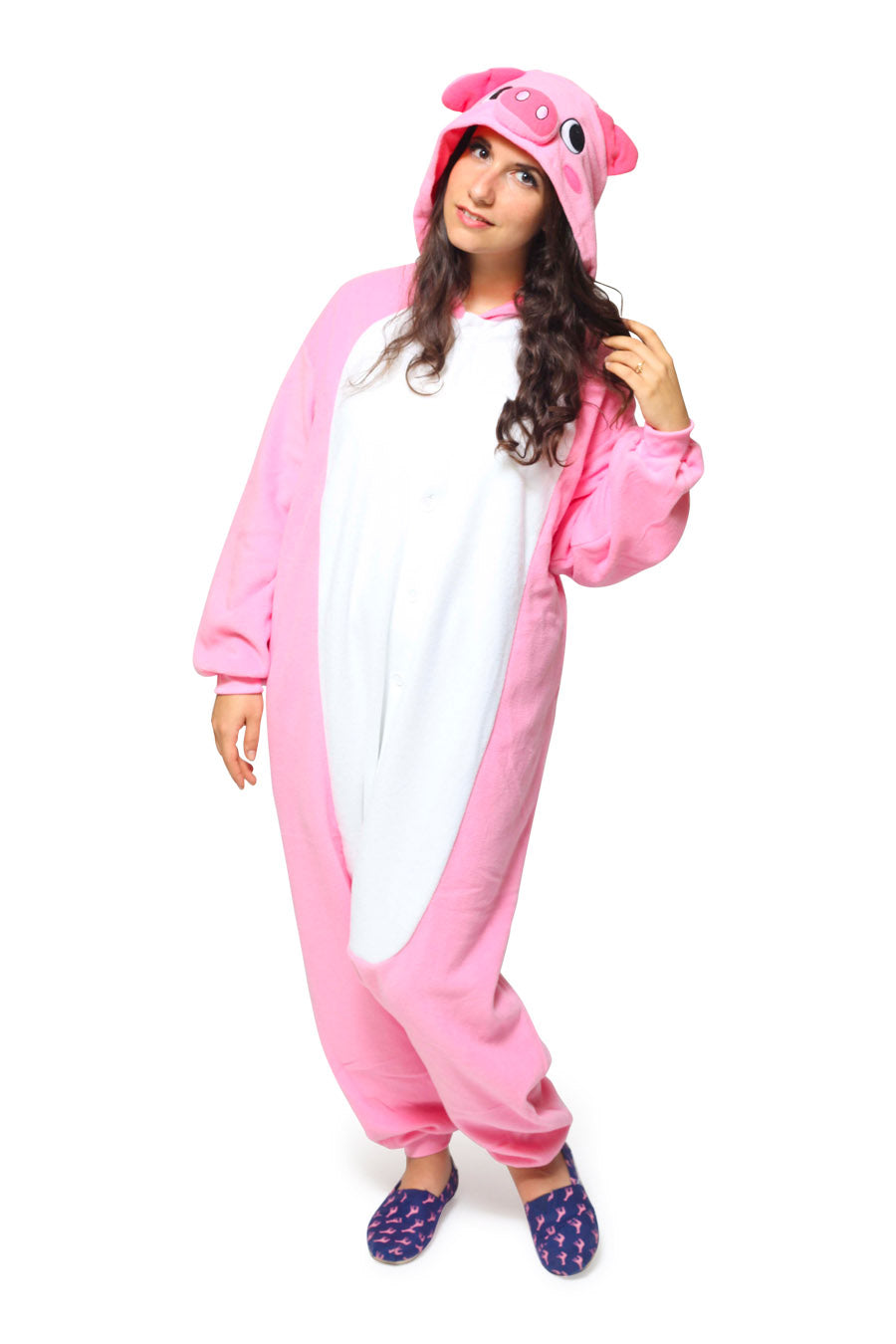 Pig Animal Kigurumi Adult Onesie Costume Pajamas Main