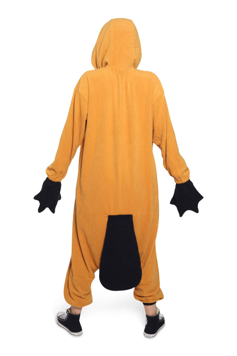 Platypus Animal Kigurumi Adult Onesie Costume Pajamas Back