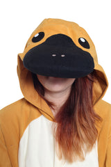 Platypus Animal Kigurumi Adult Onesie Costume Pajamas Hood