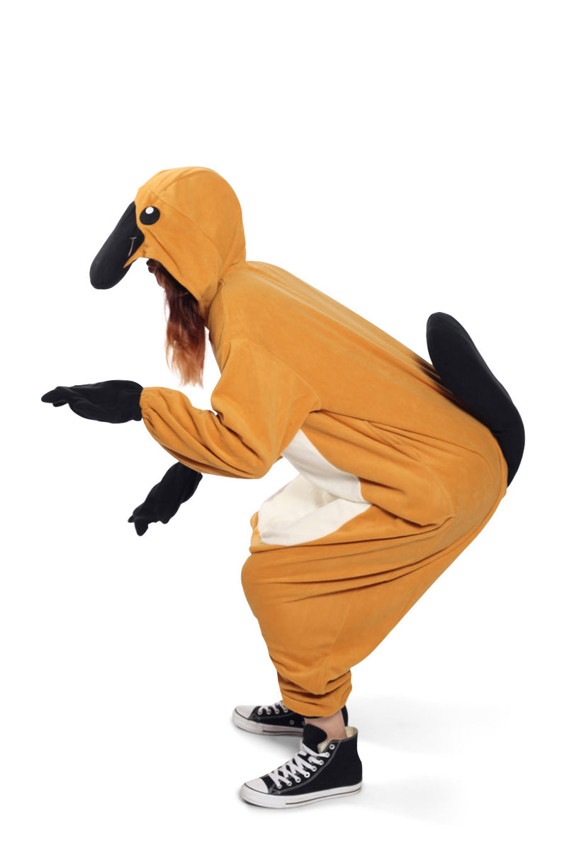Platypus Animal Kigurumi Adult Onesie Costume Pajamas Side Seconary