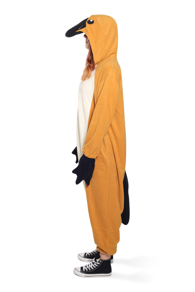 Platypus Animal Kigurumi Adult Onesie Costume Pajamas Side
