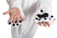 Polar Bear Animal Kigurumi Adult Onesie Costume Pajamas Paws Mitts