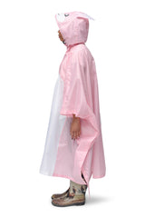 Rabbit Kigurumi Poncho Raincoat Adult One Size