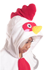 Rooster Animal Kigurumi Adult Onesie Costume Pajamas Hood 2