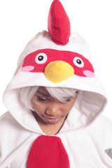 Rooster Animal Kigurumi Adult Onesie Costume Pajamas Hood