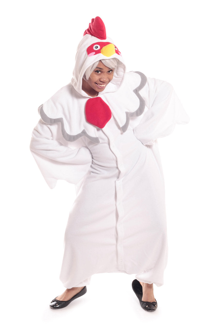 Rooster Animal Kigurumi Adult Onesie Costume Pajamas Main