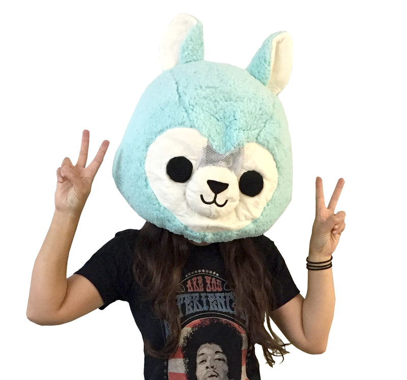 Giant Big Alpaca Head