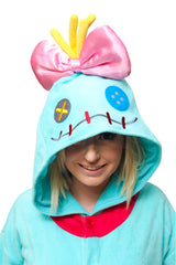 Scrump the Doll Character Kigurumi Adult Onesie Costume Pajamas Hood