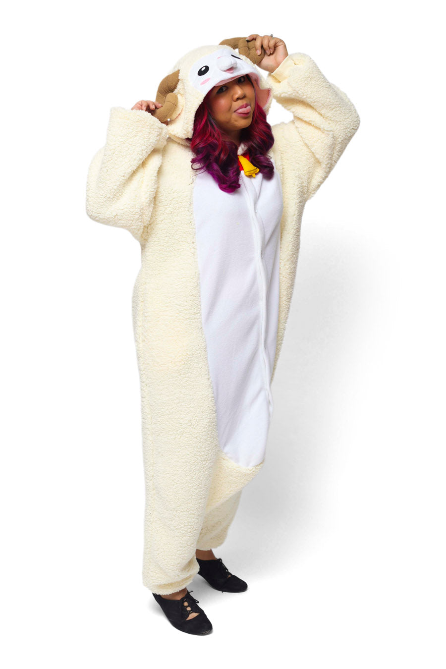 Sheep Animal Kigurumi Adult Onesie Costume Pajamas Main