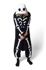 Skeleton Animal Kigurumi Adult Onesie Costume Pajamas Main