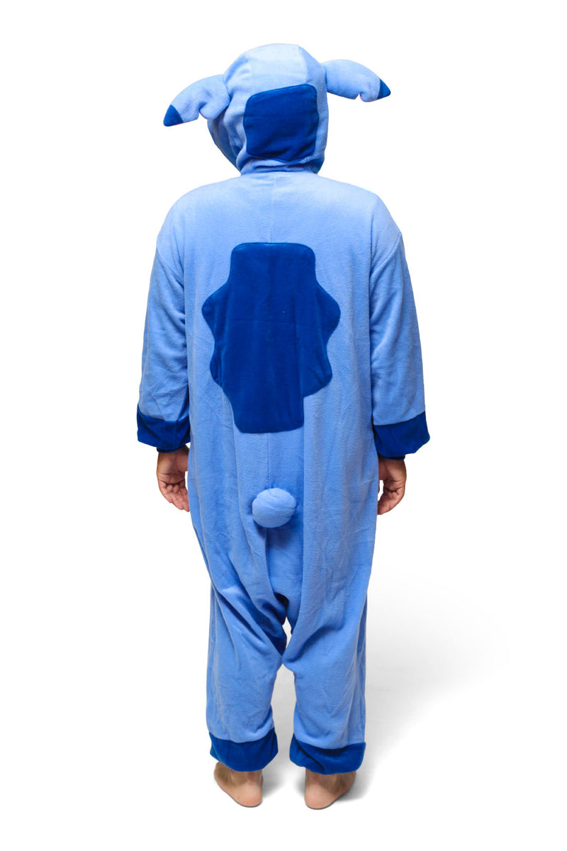 Stitch Character Kigurumi Adult Onesie Costume Pajamas Back