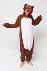 Wolf Onesie Kigurumi Animal Costume Adult Pajamas