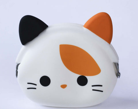 Calico Cat Silicone Pouch P+G Design