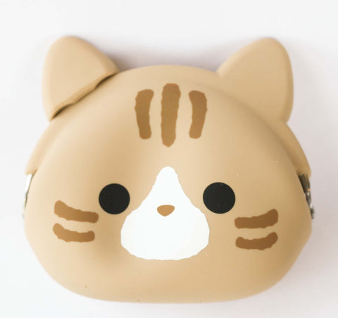Caramel Cat Silicone Pouch P+G Design