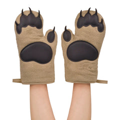 Default Title Bear Hands Oven Mitts Fred