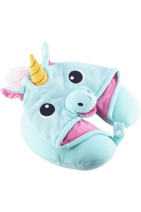 Default Title Blue Unicorn Neck Pillow Sazac