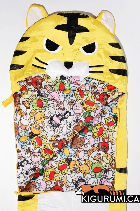Default Title Fierce Tiger Sleeping Bag Sazac