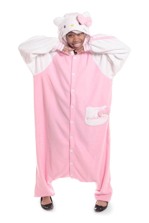 Hello Kitty Sazac Kigurumi Adult Onesie Pyjama Costume
