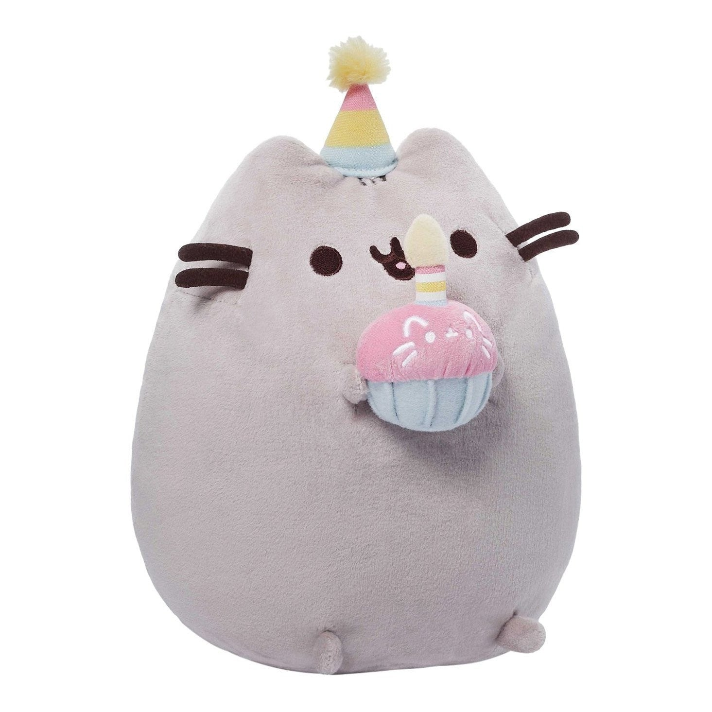 "Pusheen the Cat 10"" Birthday Cake Plush GUND"
