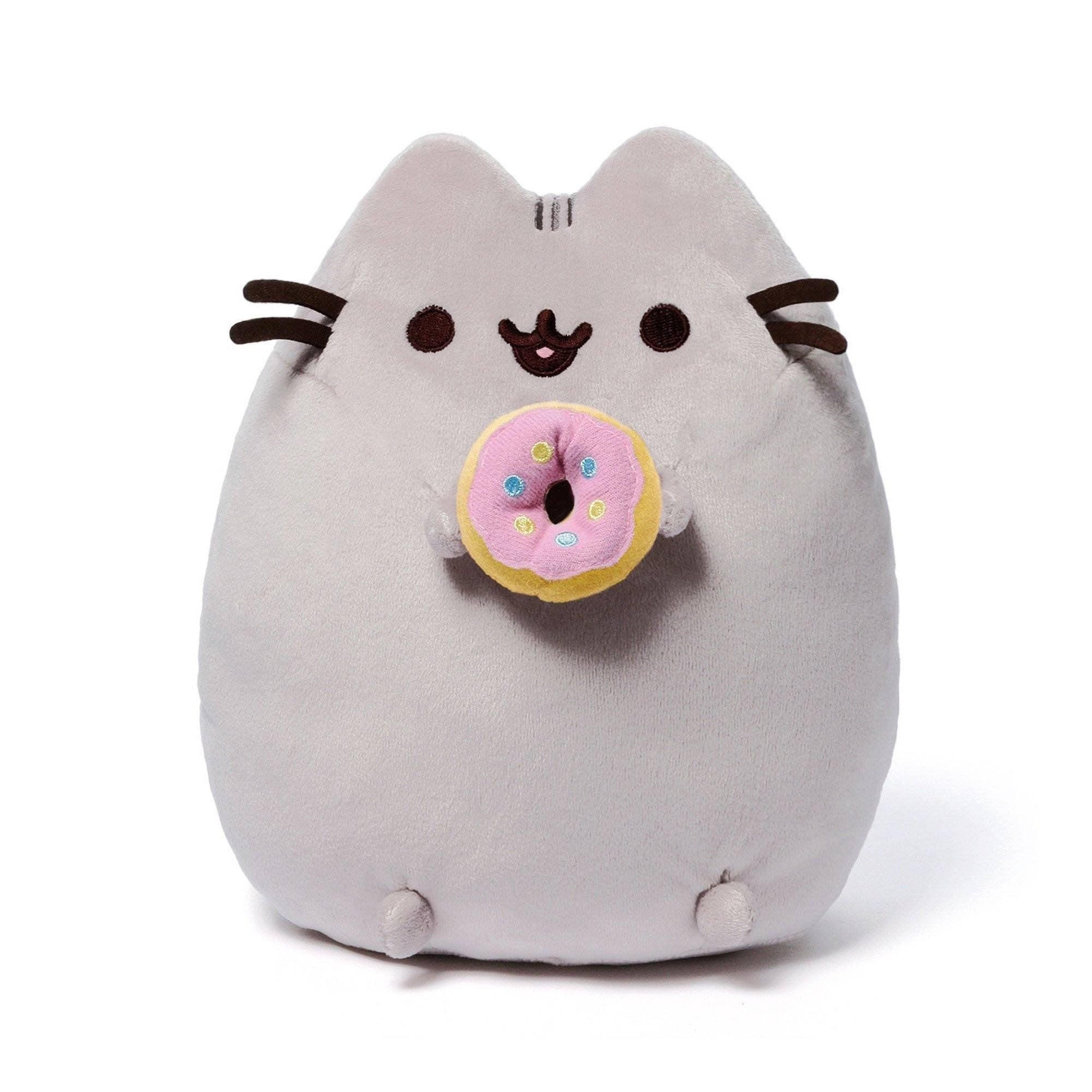 "Pusheen the Cat 10"" Donut Plush GUND"