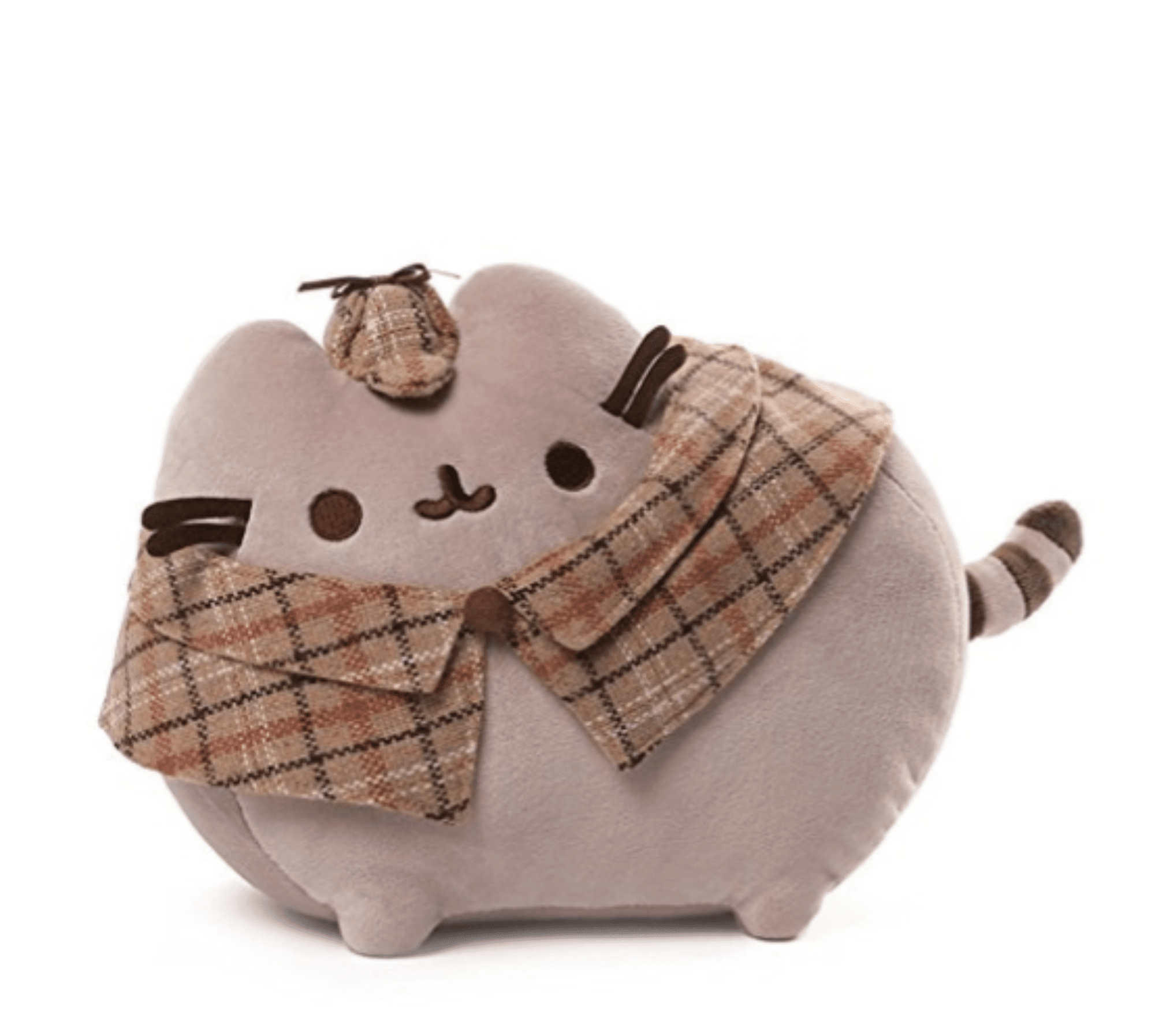 "Pusheen the Cat 13"" Detective Plush GUND"
