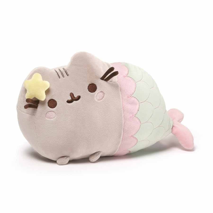 "Pusheen the Cat 13"" Mermaid Plush GUND"