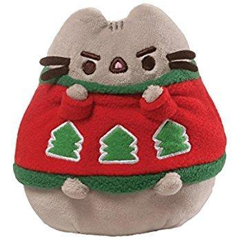 Pusheen the Cat Holiday Sweater Plush GUND