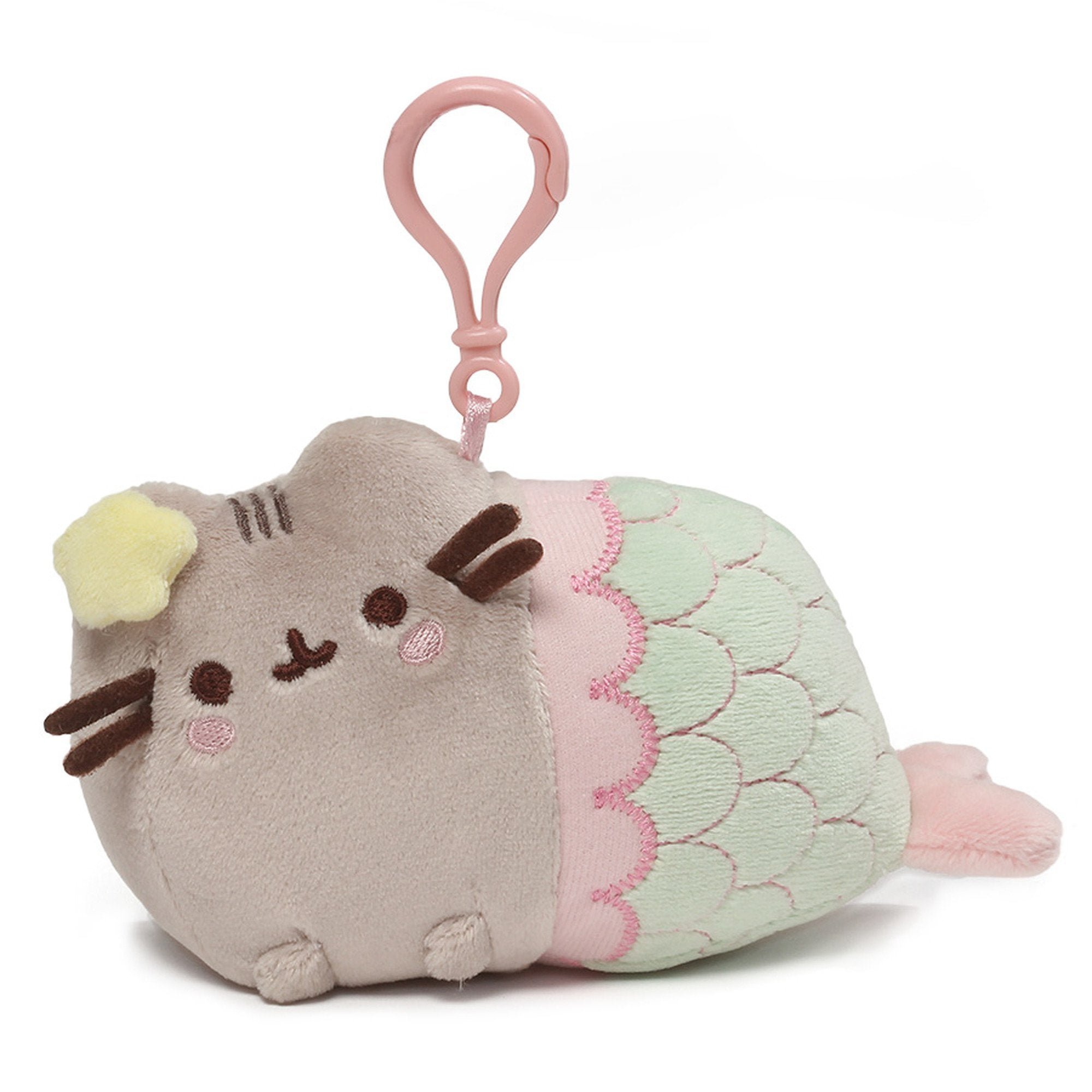 Pusheen the Cat Mermaid Clip GUND