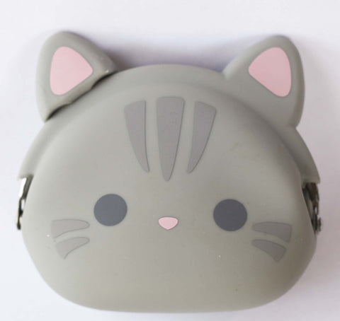 Tabby Cat Silicone Pouch P+G Design