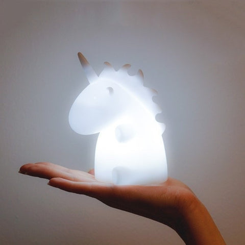 White Mini Unicorn Ambient Light SMOKO INC.