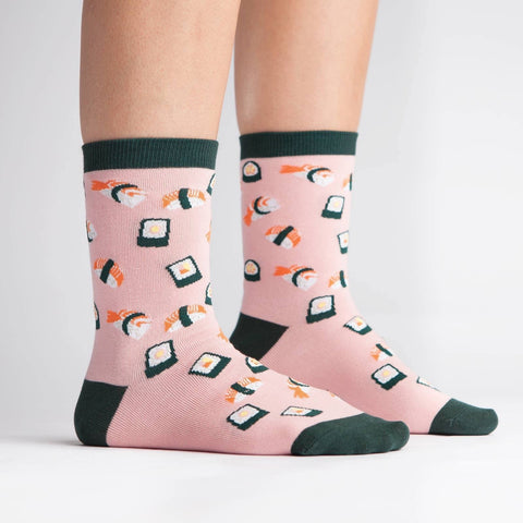 Yummy Sushi Crew Socks Sock it to Me