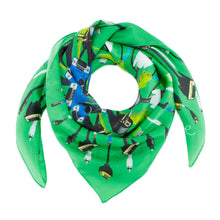 Load image into Gallery viewer, Jungle Wire Silk Scarf