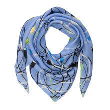 Load image into Gallery viewer, Lilac Spark Silk Scarf