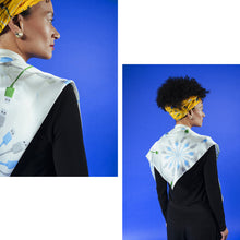 Load image into Gallery viewer, Ivory Connection Silk Scarf