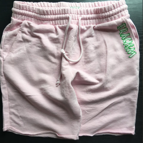 Pink Comfy Sweat Shorts