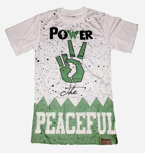 Power Two The Peaceful Jersey #P2TP