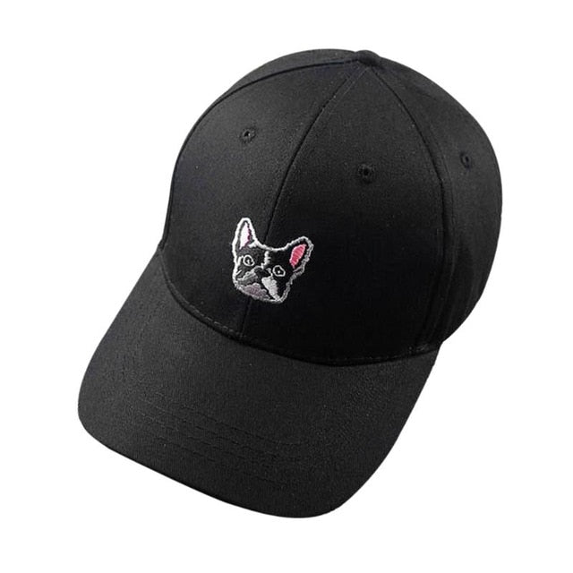 French Bulldog Snapback Adjustable Baseball Cap