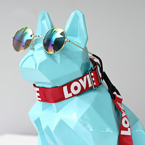 Love Logo French Bulldog Leash + Collar Set