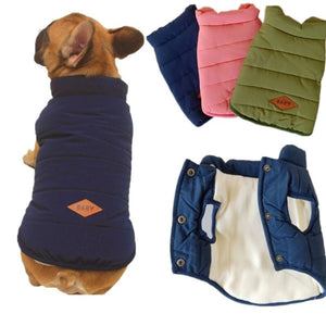 Quilted Padded PufferJacket Vest for Dogs (So Comfy!!) - Wrinkles & Cupcakes