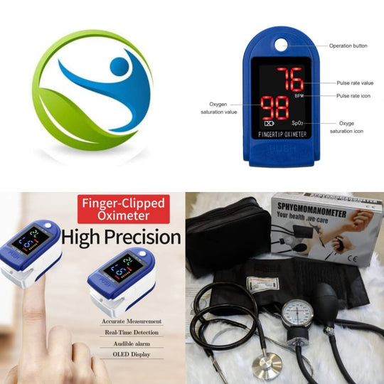 50% OFF Pulse Oximeter PLUS Sphygmomanometer