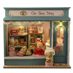 DIY Cute Bear Furniture Doll House