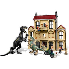 1046pcs Jurassic Dinosaur Raptor Model Building Blocks