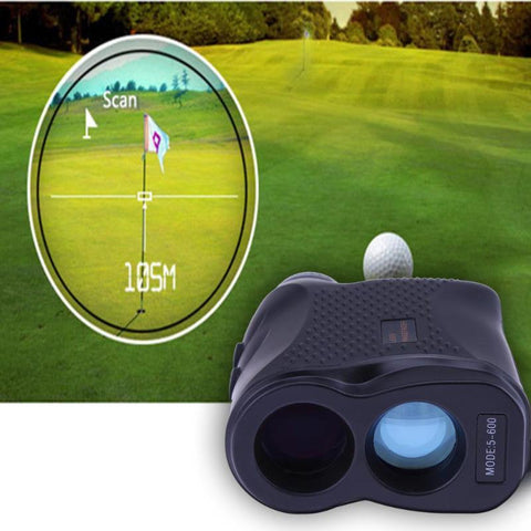 600M Laser Telescope Outdoor Hunting Distance Golf Range Finder