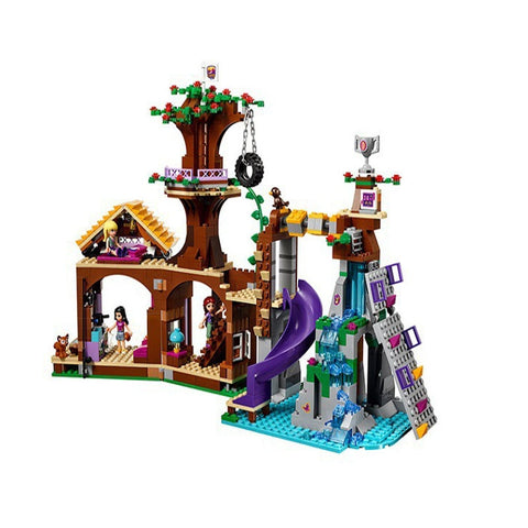 Camp Tree House Model Building Blocks